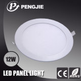 세륨 RoHS (PJ4028)를 가진 12W Round Indoor LED Panel Light