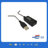 Schwarzer Color USB Extension Cable Male zu Female