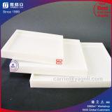 Plateau acrylique carré blanc et clair de qualité