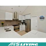 流行の白いカラー食器棚の家具(AIS-K121)