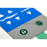 China-kundenspezifischer Qualitäts-Bildschirm-Drucken-Noten-Membranen-Tastaturblock-Schalter
