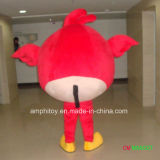 熱い販売の鳥の党誕生日のための赤いマスコットの衣裳