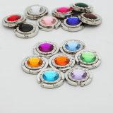 De mini Draagbare Kleurrijke Vouwende Hanger van de Beurs van de Haak van de Handtas van Tafelbladen
