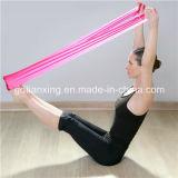 Venda del látex del estiramiento de la resistencia del ejercicio