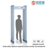Zonas interiores 300 Convierte Inteligente nivel de sensibilidad del detector de metales digital