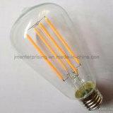 Luz de bulbo do filamento do diodo emissor de luz St64
