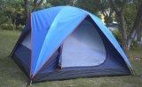 Neue preiswerte manuelle knallen oben doppelte Schicht-Strand-Zelt mit UV