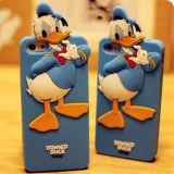 Tampa do silicone de Mickey Mouse da forma para o telefone de pilha