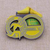 عالة هبات يركض وسام سباق المارتون معدن رياضة وسام مع وشاح