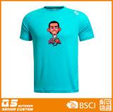 Les sports des hommes sèchent le T-shirt en bonne santé
