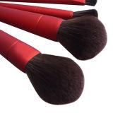Щетка состава Frosting красного цвета 10 инструментов косметики PCS