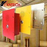1개의 공황 단추 Knzd-11를 가진 내부통신기 엘리베이터 또는 지하철 비상사태 전화를 드십시오