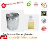 Compensé de CAS 13103-34-9/Boldenone jaune-clair Undecylenate pour le stéroïde de gain de muscle