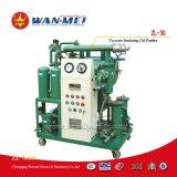 Épurateur de pétrole célèbre de transformateur de vide d'étape simple de série de la Chine Zl