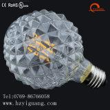 새로운 지구 모양 LED 필라멘트 전구