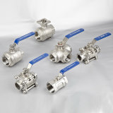 Q11f Stainless Steel 2PC Thread Ball Valve