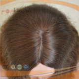 金褐色のカラー皮の上の緩い波状のヨーロッパのバージンのRemyの毛のかつら