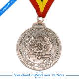 최고 3D를 각인하는 판매에 의하여 주문을 받아서 만들어지는 아연 합금 압력 양측 기념품 메달 시리즈 제품