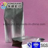 Seitliches Stützblech-Aluminiumfolie, die grünen Teebeutel verpackt