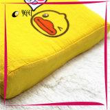 Le canard 100% de coton a estampé le palier de course de corps de bâti de mousse de mémoire de latex