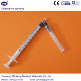 Siringa sterile a gettare con l'ago 1ml (ENK-DS-062)