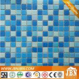 Azul do arco-íris, banheiro, piscina, mosaico de vidro (H420090)