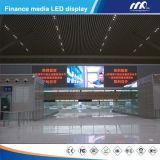 Parede video interna Rental do indicador de diodo emissor de luz da cor cheia de P12.5mm para anunciar com SMD 3528