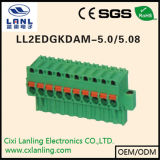 Connettore Pluggable del PWB dei blocchetti terminali Ll2edgkdh-5.0/5.08