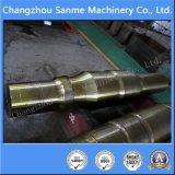 Eje de rotación del bastidor del molde de acero para las piezas de maquinaria de explotación minera