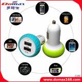Caricatore dell'automobile di corsa del USB dell'universale 2 del caricatore del telefono mobile