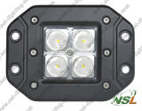 12V 24V LED Work Light, 16W Waterproof LED Work Light, IP67 LED Work Light mit CER, RoHS