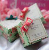 리본을%s 가진 결혼식 사탕 상자 또는 초콜렛 상자