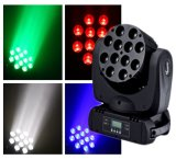 12PCS LED 4in1 Moving Head Beam Light
