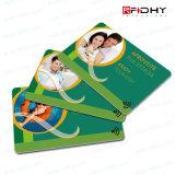 Carte en plastique imprimable d'identification d'IDENTIFICATION RF pour le management d'adhésion