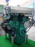 мотор морского двигателя дизеля 300HP 1800rpm Yuchai внутренный для рыбацкой лодки