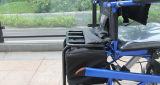 Topmedi Invalidität-Geräten-Leistung-stehender Stahlrollstuhl