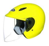 Motorrad-geöffneter Gesichts-Sturzhelm mit PUNKT