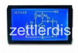 Индикация LCD 128 x 64 графиков многоточий, модуль Cog: Серия AGM1264k
