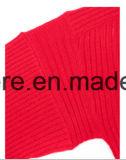 Reine Kaschmir-Strickwaren der Dame-Thick&Thin Rib Long Sleeve