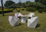 Mobilia di cinque anni a forma di diamante di prima scelta del giardino della garanzia di molto tempo