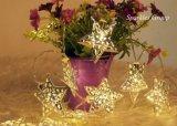 Luz de Natal do diodo emissor de luz da decoração do Natal da luz da corda do diodo emissor de luz