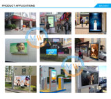 55 polegadas Floor Standing Outdoor Touch Screen Kiosk para Outdoor LCD Advertizing (MW-551ODFSP)