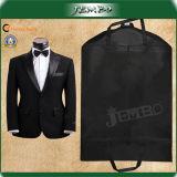 Schwarze Mantel-Kleidung-Kleid-Klage-Abdeckung-Beutel