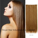 Pinza de pelo recta de la venta caliente en la extensión del pelo