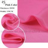 Gasa de la seda del 100% con reactivo impresa para la tela de seda de la alineada