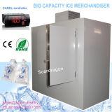 Большой Merchandiser льда замораживателя хранения льда мешка емкости