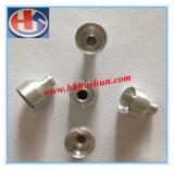 Штуцеры кислородного изолирующего противогаза медные, часть CNC Turnning, часть металла (HS-TP-019)