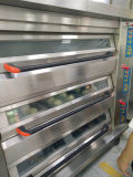 Horno de panadería eléctrico de lujo de Digitaces 3 de las bandejas profesionales de la cubierta 9
