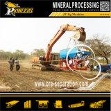 Máquina Process da recuperação do ouro do separador do gabarito do ouro da gravidade da maquinaria da mina