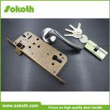 Ручка двери цинка никеля Sokoth черная